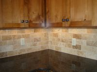 Travertine Backsplash | www.imgkid.com - The Image Kid Has It!