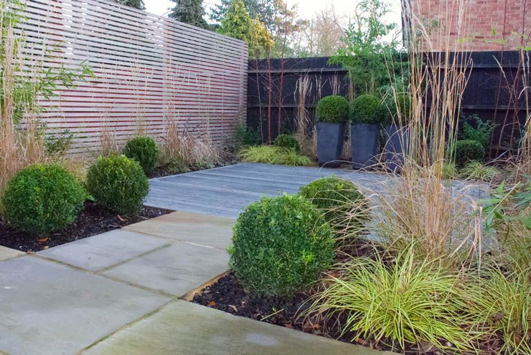 Small Modern Gardens Contemporary Small Garden Designs768 X 514