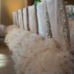 Chair Covers For Weddings Pinterest Walgreens Lift Chairs Glam Wedding And Feather Sequin This Would Be Such An Awesome Idea To Do At The Head Table Bridesmaids Then
