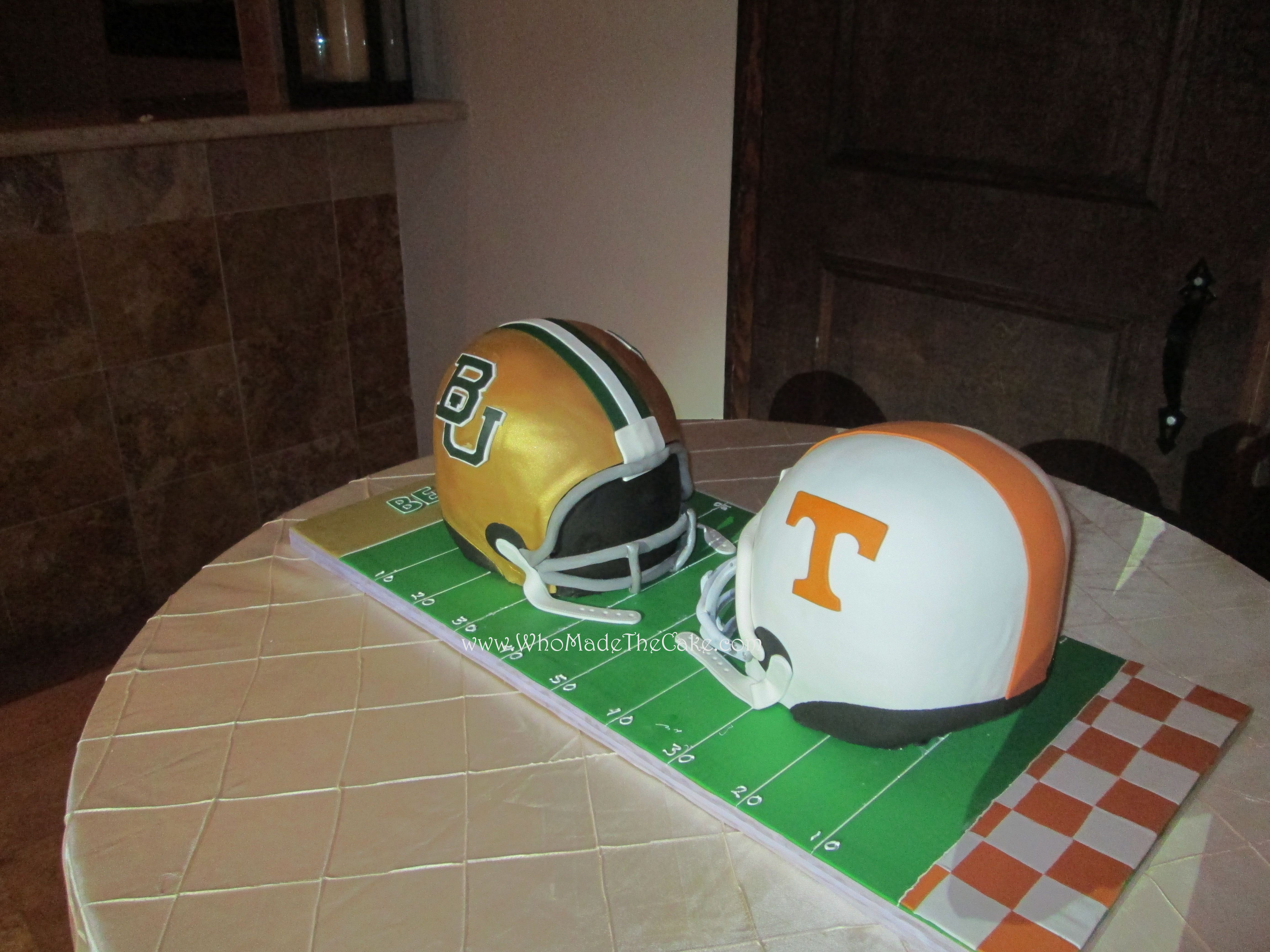 Baylor Amp University Of Tennessee Groom S Cake By