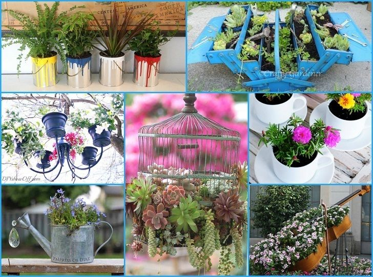 40 Unique & Fun Container Garden Ideas Gardens Traditional And
