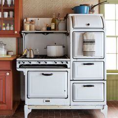 Antique Kitchen Appliances Carts And Islands Inside An 1830s Farmhouse In The Catskills Filled With