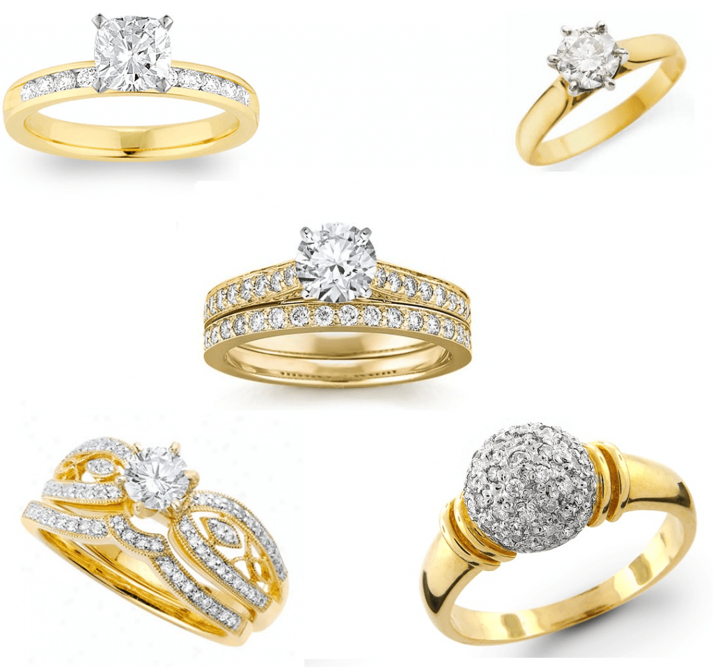 Gold Jewellery Ring Designs 2013