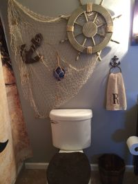 Pirate decor found at hobby lobby | Pirate Bathroom ideas ...