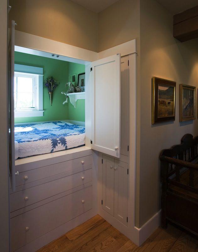 Best 25 Hideaway bed ideas on Pinterest  Hidden beds in