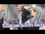 silver hair ion titanium results