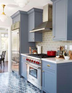 modern kitchen cabinets ideas also grey painted gray subway rh in pinterest