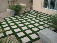 Exterior: Garden Landscaping Ideas Low Maintenance Uk With ...