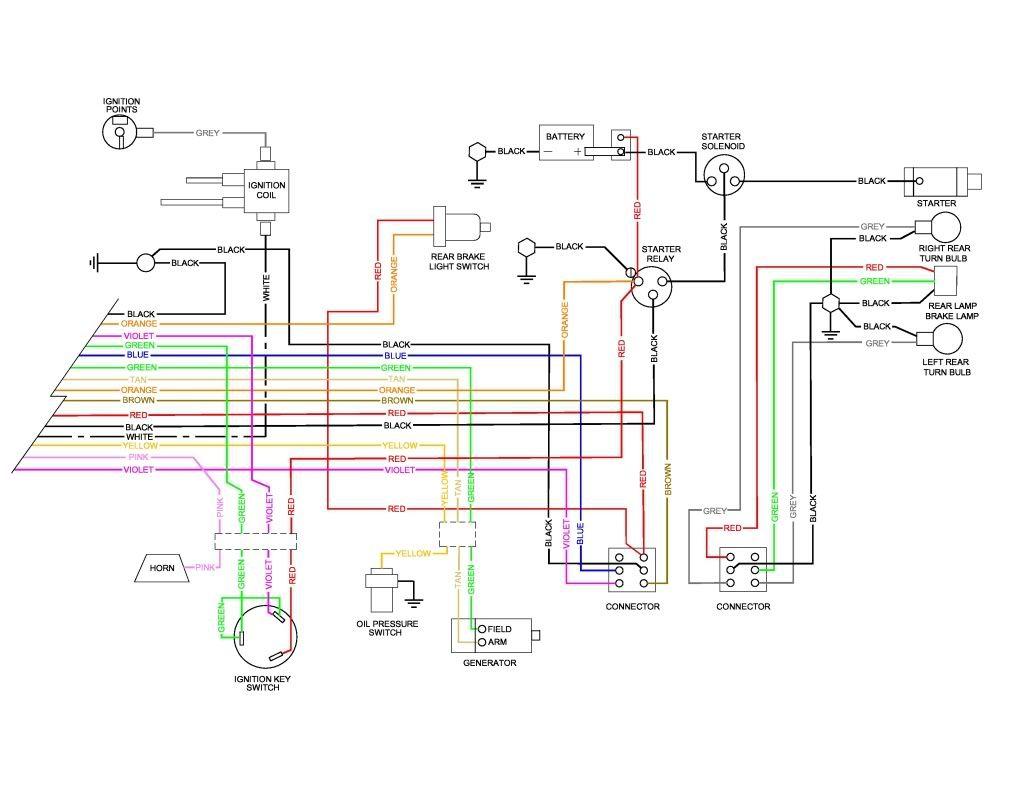 WRG-5324] 1973 Sportster Wiring Diagram on