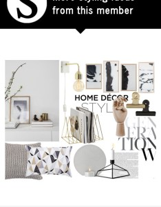 Red grey by constanceann liked on polyvore featuring interior interiors design home decor decorating april cornel  also rh pinterest