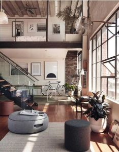 Loft in melbourne design studio grazia  co luxury luxuryhome architect also rh pinterest