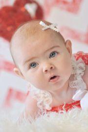 newborn infant stick baby hair