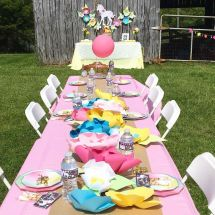 Unicorn Birthday Party Table Ideas - Year of Clean Water
