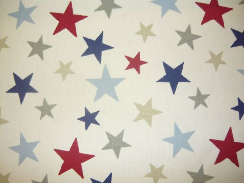 Details About MARSONS FUNKY STARS CURTAIN FABRIC MATERIAL BLINDS