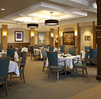 The Dining Room at Maison Senior Living | Decor ideas ...