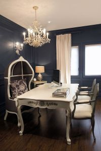 House of Design: Fabulous Home Office. {Chandelier ...
