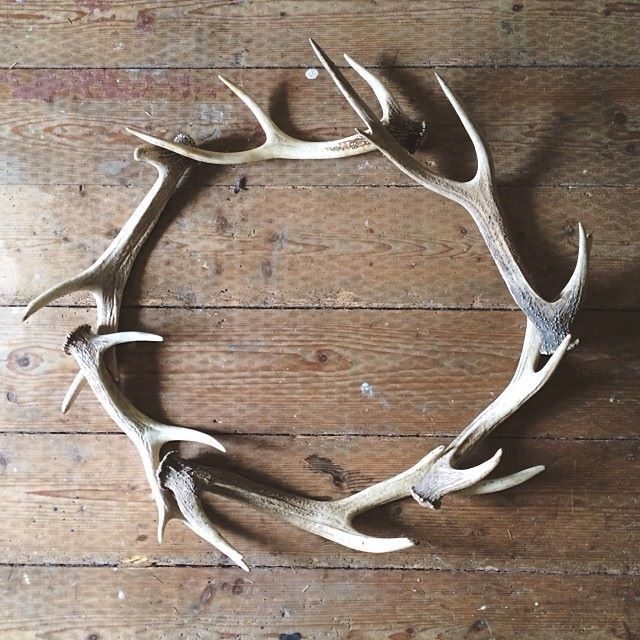Welcoming wreaths diy home decor wreath ideas christmas with rustic antlers also shed find pinterest rh