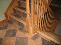 tiled stairs | Tile Stairs & Landing.jpg by Tile By Pfiel ...