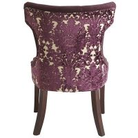 Pier 1 Imports, Hourglass Dining Chair - Purple Damask ...
