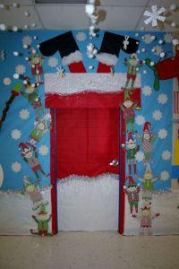 Santa Stuck Classroom Door Decoration by aracisgon ...