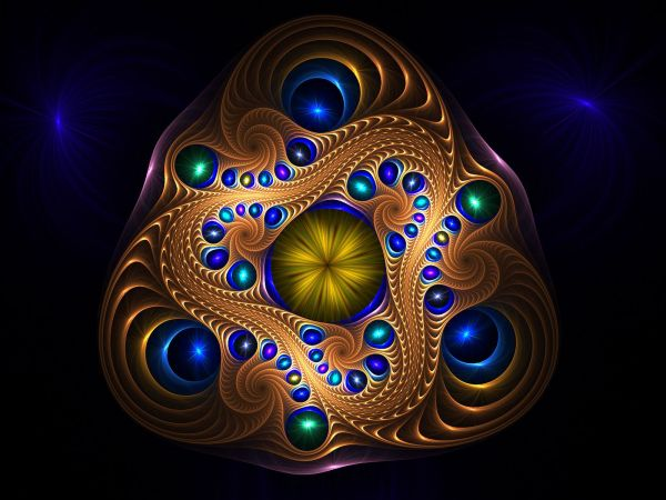 Abstract Wallpapers Sacred Geometry & Fractals