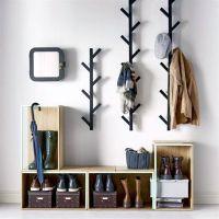 40 Cool And Creative DIY Coat Rack Ideas | Diy coat rack