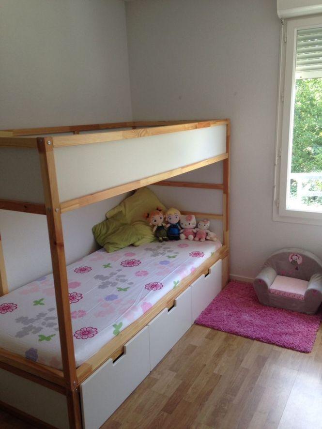 Like Ikea Hack Kura Bed