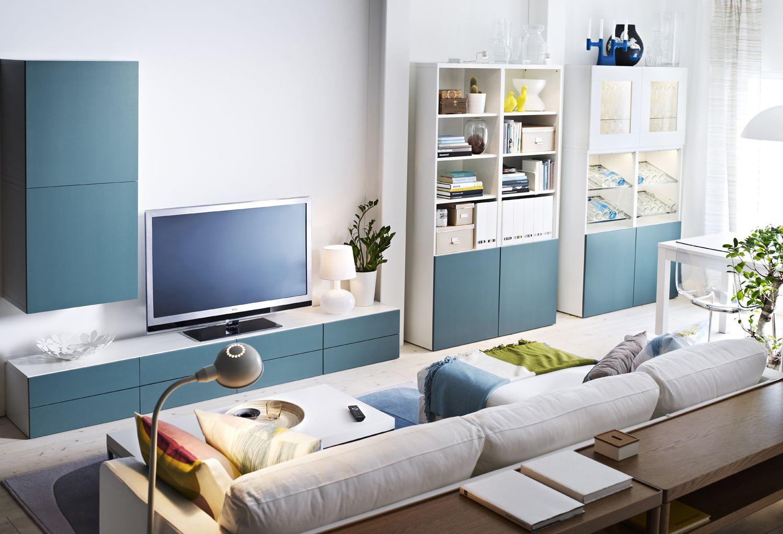 IKEA sterreich Inspiration Wohnzimmer TVKombination BEST Front BEST VARA Esstisch