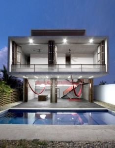 House also small with pool extravagance let your stand out rh pinterest