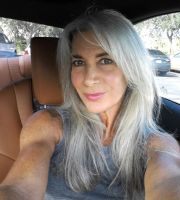 beautiful long gray hair stuff