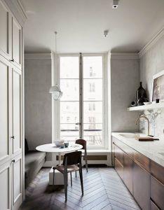 Modern french contemporary parisian interiors also kitchen remodel rh pinterest