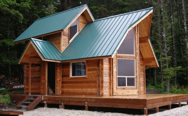 Tiny House Kits For Sale A Unique Roof Design With Many