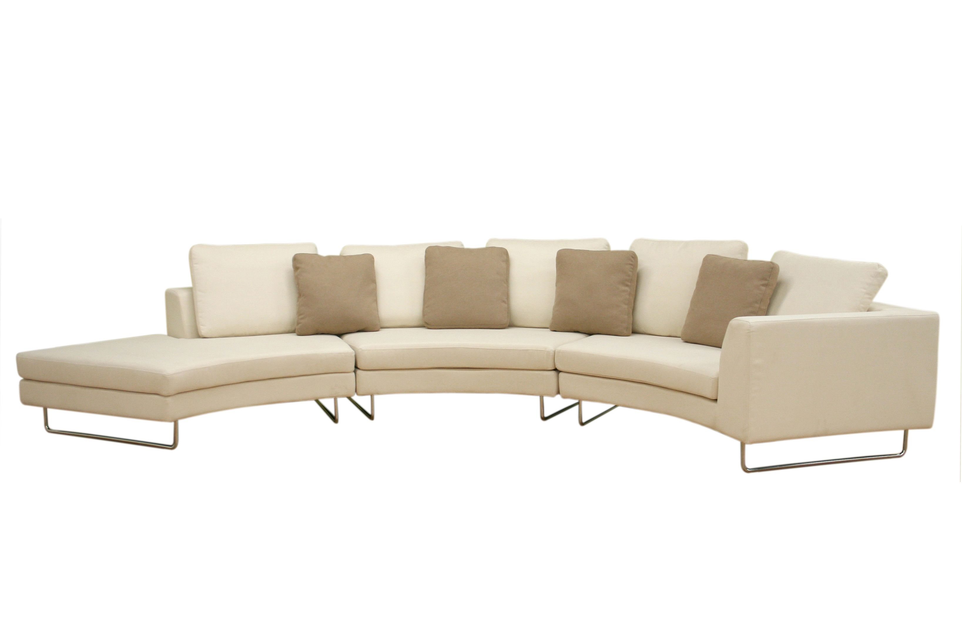 modern round sofa bed hideabed with air mattress curved sectional beds design wonderful