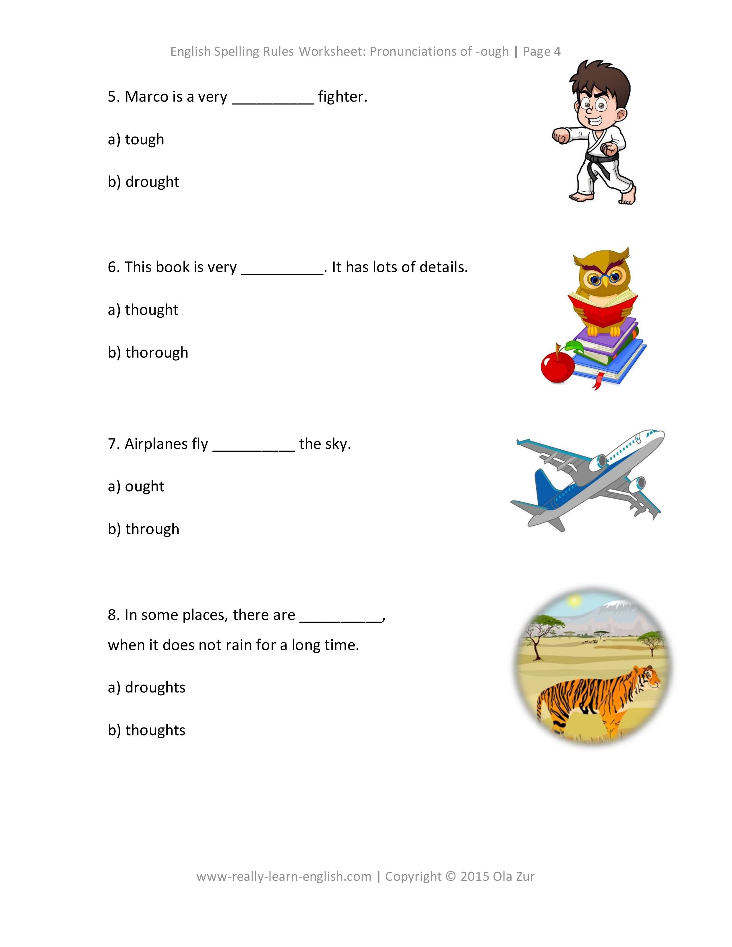 Look Free Printable Worksheets To Practice The English