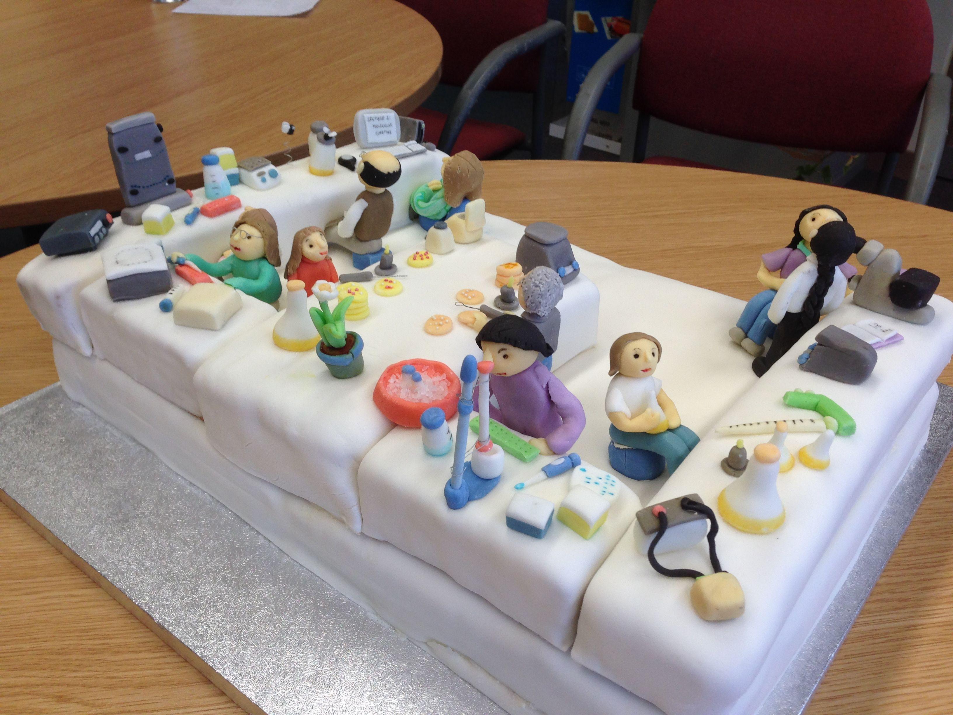 Molecular Biology Lab Cake