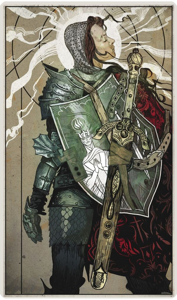 Dragon Age Inquisition Tarot Concept art Pinterest