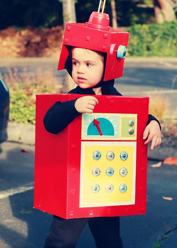 Robot Costume Illustrations And Craft Projects