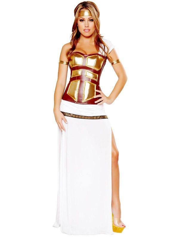 Sexy Greek Goddess Deluxe Costume Cheap & Roman