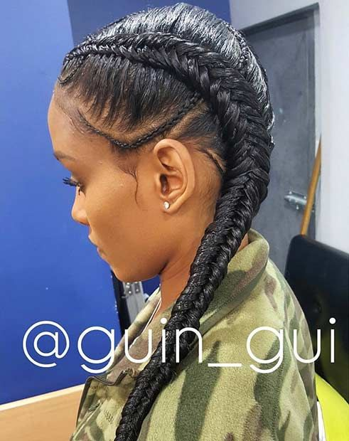 31 Cornrow Styles To Copy For Summer Summer Style And Fishtail