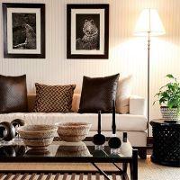 modern contemporary african theme interior decor design ...