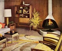 1960s Decorating Style | 60 s, Living rooms and 1960s