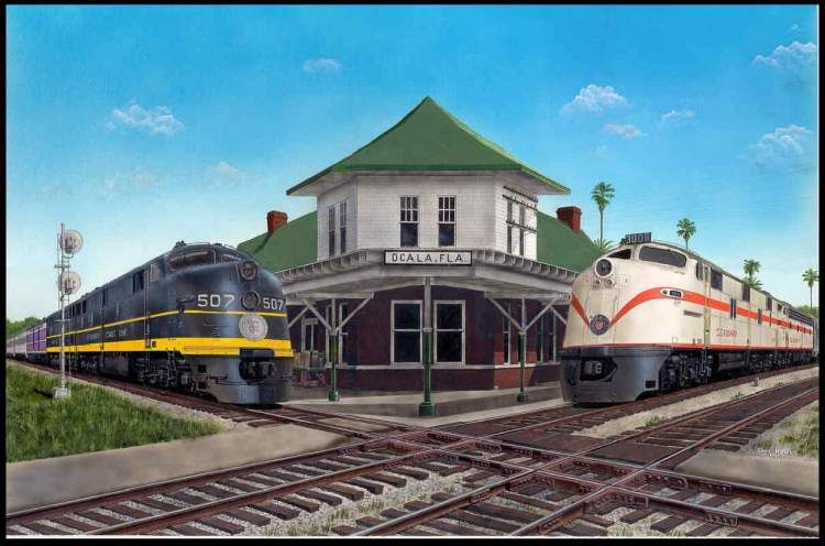Passenger trains of the Seaboard Air Line and Atlantic