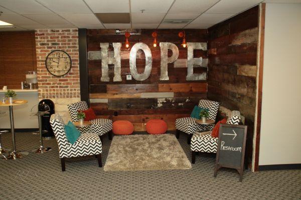 Church Youth Room Wall Ideas