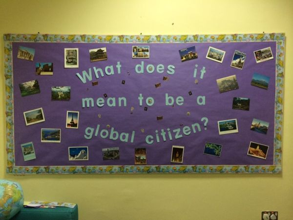 Global Citizenship Bulletin Board
