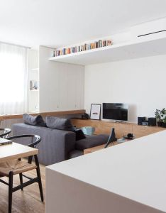 Home designing light and bright apartments celebrating white space contemporary designers furniture also rh pinterest