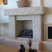 Contemporary Stone Fireplace Designs