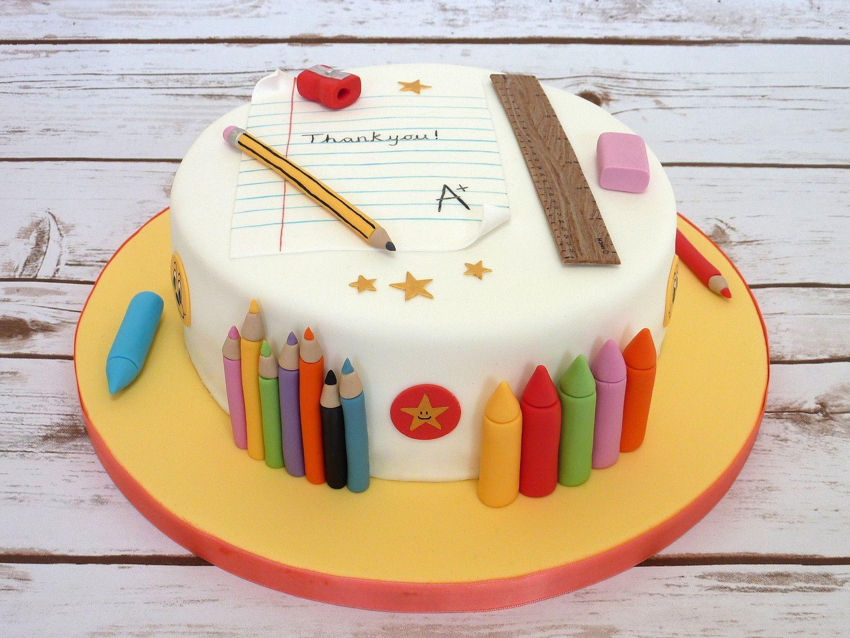 Thank You Cake Decorating Ideas
