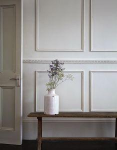 Panelling can transform  space completely quick diy picture frame moulding also decor de provence paneling trim etc pinterest rh