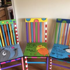 Dr Seuss Chair Chalk Table And Chairs Things Ive Made Pinterest