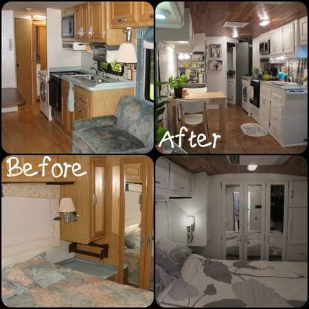 RV Renovation Pictures RVing Pinterest Rv Camper